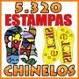 5.320 Pares De Estampas Chinelos Sandalias Sublimação Artes