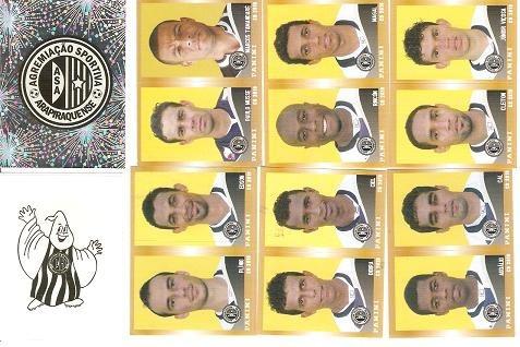 08 Figurinhas - Camp Brasileiro 2010 - Asa - Al, Completo
