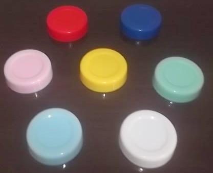10 Potinhos De Vidro Papinha 40ml Redondo Ou Sextavado