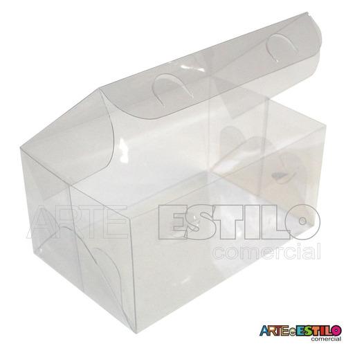 100 Caixas Acetato 12x8x6 Lembrancinhas, Docinhos, Presentes
