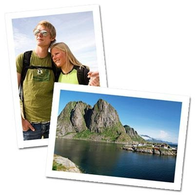 100 Folhas Papel Fotográfico Adesivo Glossy A Prova Dágua