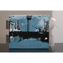 Álbum Fotos Scrapbook Viagem Namorados - Noivos - Lua De Mel