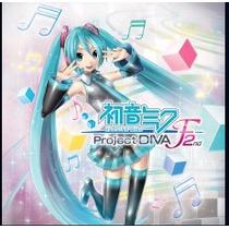 Hatsune Miku/ Project Diva F 2nd Jogos Ps3 Codigo Psn