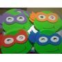 Mascaras Tartarugas Ninjas Em Eva Com 20