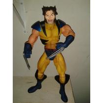 Wolverine Marvel Rotocast 30cm Sem Máscara Toy Biz