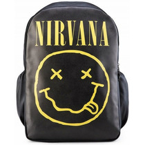 Mochila Nirvana Tribo Do Rock