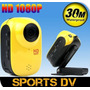 Esporte Camera Mini Dv Full Hd 1080p Prova D