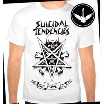 Camiseta Suicidal Tendencies Baby Look Regata Banda Rock