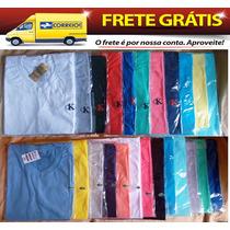 Kit Com 40 Camisetas Lisas Preço De Fábrica Frete Grátis