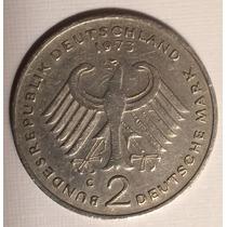 Moeda Comemorativa 2 Deutsche Mark - 1973/75