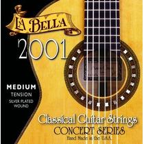 La Bella 2001 | Encordoamento P/ Violão Nylon