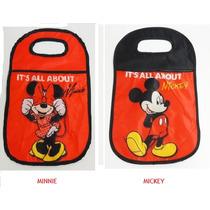 Lixeira Lixo Lixinho Luxo Acessorio Carro Mickey