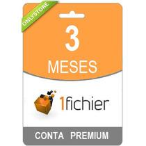 Conta Premium 1fichier 90 Dias - Direto Do Site! Oficial