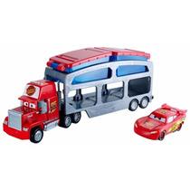 Caminhão Mack Trailer Color Change Disney Cars Mattel Ckd34