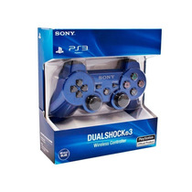 Controle Ps3 Dualshock 3 Azul Original Sony Playstation3