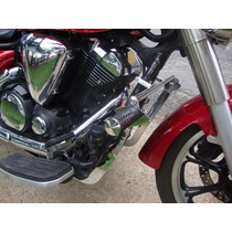 Protetor De Motor Com Pedais Midnight Star 950