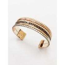 Pulseira Ouro 18k Diamantes Negros
