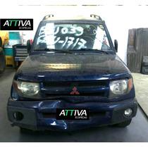 Sucata Pajero Io/tr4 Motor Cabeçote Diferencial Cambio Porta