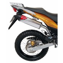 Escape Ponteira Coyote Trs Off-road Aluminio Honda Crf 230