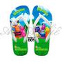 Sandálias Chinelos Havaianas Personalizadas Backyardigans
