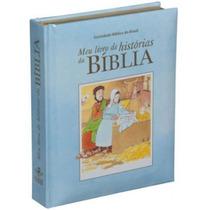 Meu Livro De Histórias Da Bíblia Crianças Bebês Capa Azul