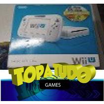 Nintendo Wii U Branco Basic Seminovo Desbloqueado Loadiine !