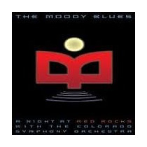 Dvd+cd Moody Blues A Night At Red Rocks With The Colorado Sy