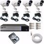 Kit Dvr Luxvision 4ch + 4 Cam Infra Acesso Celular Ao Vivo