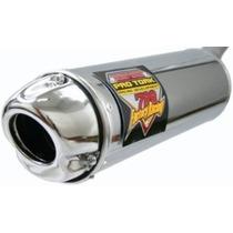 Escapamento Pro Tork 788 Aço | Cg 125 Titan Es 2000 A 2004