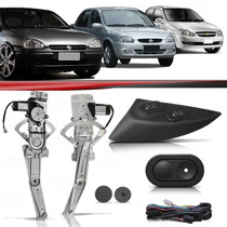 Kit Vidro Elétrico Corsa Sedan Classic 96 97 98 99 00 01 02