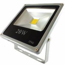Refletor Holofote Led 20w Bivolt Branco Frio Quente Verde