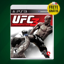 Ufc 3 Undisputed 3 Ps3 Novo Lacrado