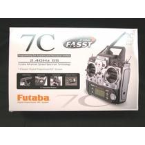 Radio Transmissor Futaba 7c + Receptor + Carregador