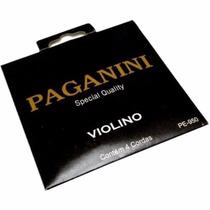 Encordoamento Cordas Paganini Violino Special Quality 4/4