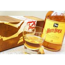 Whisky White Horse 1lt Escoces Origina Lacrado Cavalo Branco