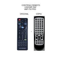 Controle Videoke Raf Vmp-8380 Vmd6628s Pro400 Pro750