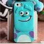 Capa Capinha Case Iphone 5/5s Monstros Sa Sulley Frete 9,99