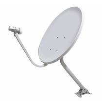 5 Antena Parabólica Banda Ku 60cm - 5 Kits Completos-novos