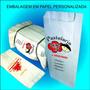 Saco Embalagem Pastel / Salgados - Personalizado 500 Unid.