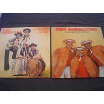 Lps (2) Trio Nordestino - Perfeitos - Somente 19,00 Os 2 Lps