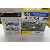 Bateria Moura Cbr 450 Cb 400 450 Sr Mv12ei Ref Yuasa Yb 12aa