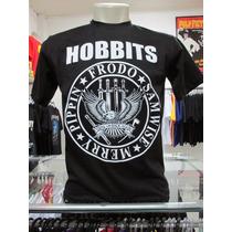 Camiseta Hobbits Senhor Dos Anéis Lord Of The Rings Cinema