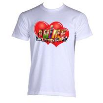Camisetas Love Anime - Estampa Exclusiva - Pronta Entrega