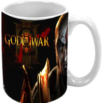 Caneca God Of War 3 Ps2 Ps3 Ps4 Psp