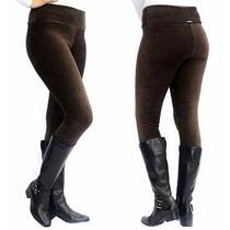 Calça Legging Veludo Cotele Frio Inverno Confortável Atacado
