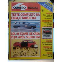 Revista 4 Rodas N. 309 - Abril De 1986 - Estado De Nova