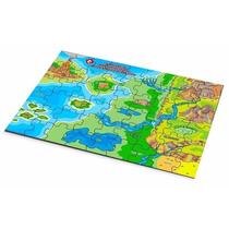 Quebra Cabeça Geografia Mapa Relevo Geográficos Carlu