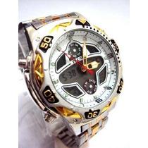Relógio Tecnet Alpha Aviador - Original