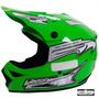Capacete Cross Pro Tork Mx Pro Verde Trilha Motocross Enduro