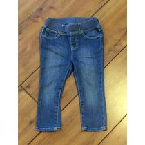 Calça Jeans Bebê Seminovo Tam 2 Anos Marca Famosa